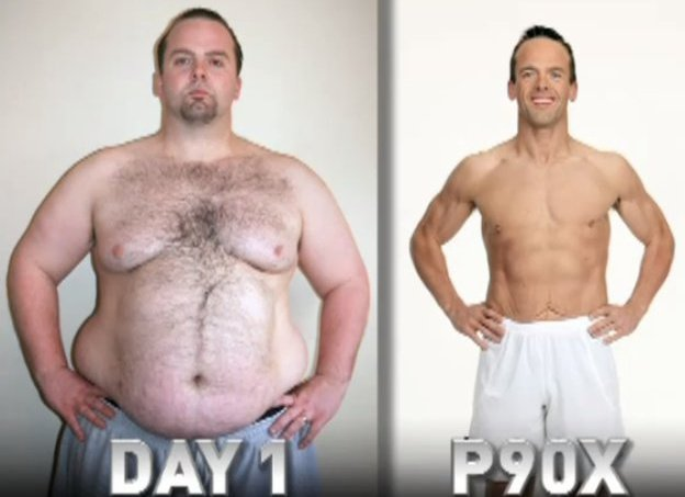How much weight did you lose with p90x lean